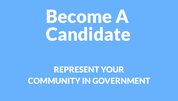 Become A Candidate - Represent Your Community - Leadership for America