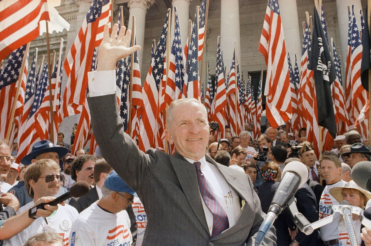 Reform Party Rally with Ross Perot